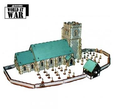 28mm Terrain: Parish Church Collection