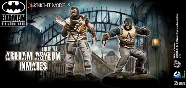 Batman Miniature Game: Arkham Asylum Inmates