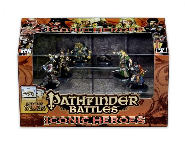 Pathfinder Battles: Iconic Heroes Box Set 4