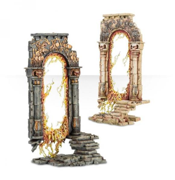 Citadel Terrain: Baleful Realmgates