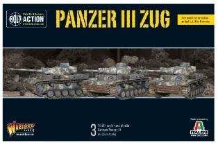 Bolt Action: (German) Panzer III Zug (3)
