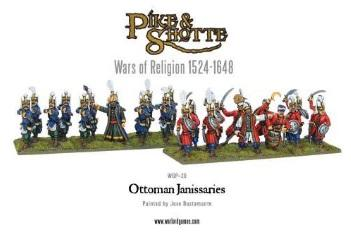 28mm Pike & Shotte: Ottoman Janissaries