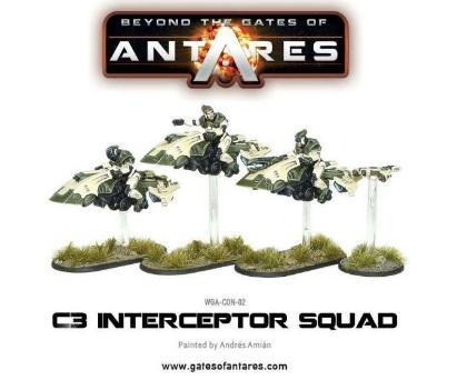 Beyond The Gates Of Antares: (Concord) C3 Intercept Squad (3)