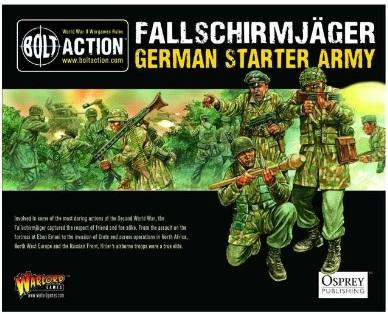 Bolt Action: (German) Fallschirmjager Starter Army