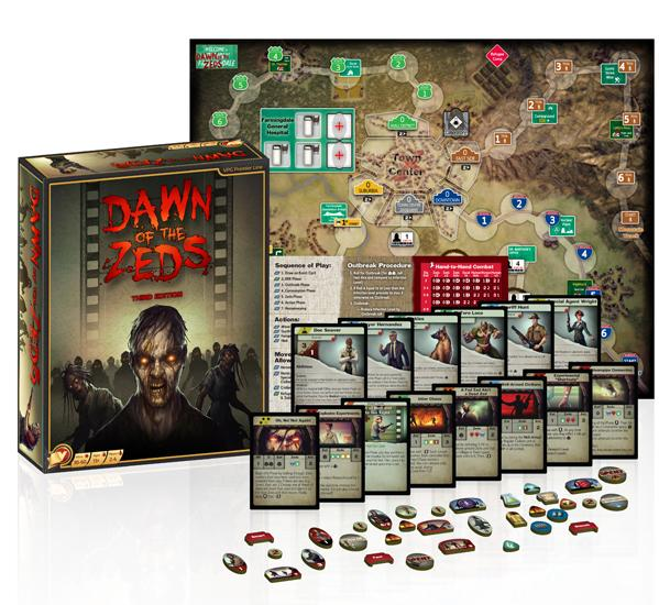 Dawn Of The Zeds: Core Game (3rd Edition)