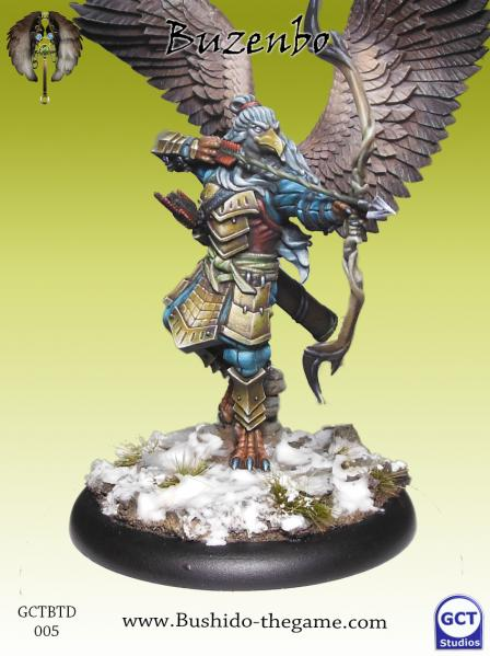 Bushido Miniatures: (Tengu Descension) Buzenbo