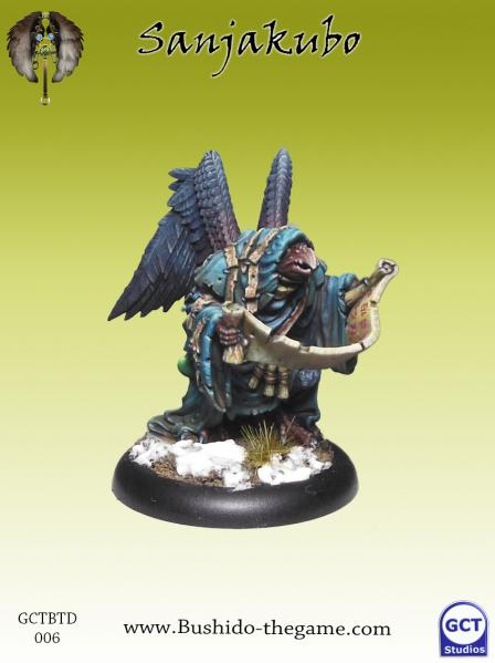 Bushido Miniatures: (Tengu Descension) Sanjakubo