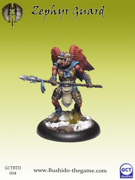 Bushido Miniatures: (Tengu Descension) Zephyr Guard