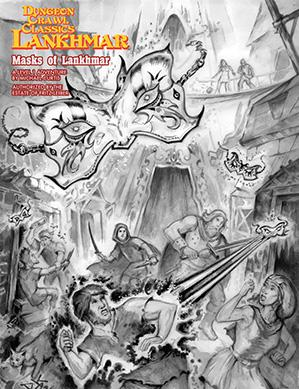 Dungeon Crawl Classics RPG: (Adventure) Lankhmar - Masks Of Lankhmar