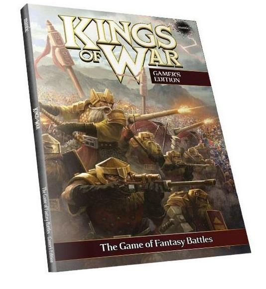 Kings Of War, 2nd Edition:Gamer's Edition Rulebook