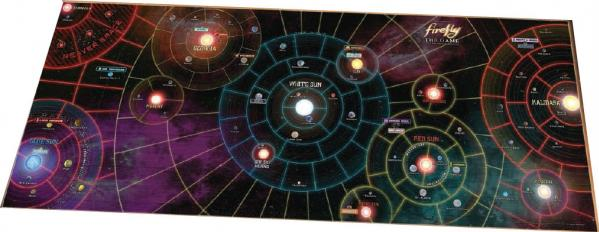 Firefly: ''Whole Damn Verse'' Vinyl Game Mat (50''x20'')