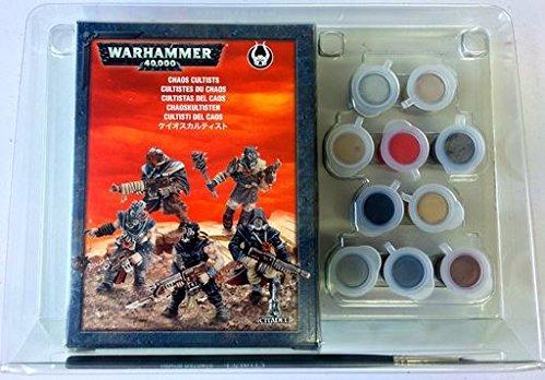 Citadel Accessories: Chaos Cultist Activity Paint Set