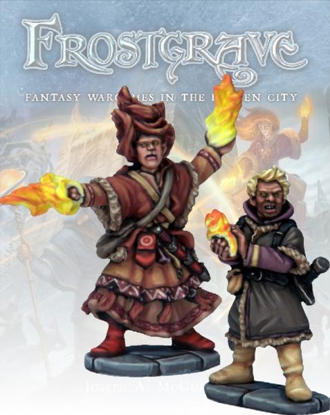 Frostgrave: Elementalist & Apprentice