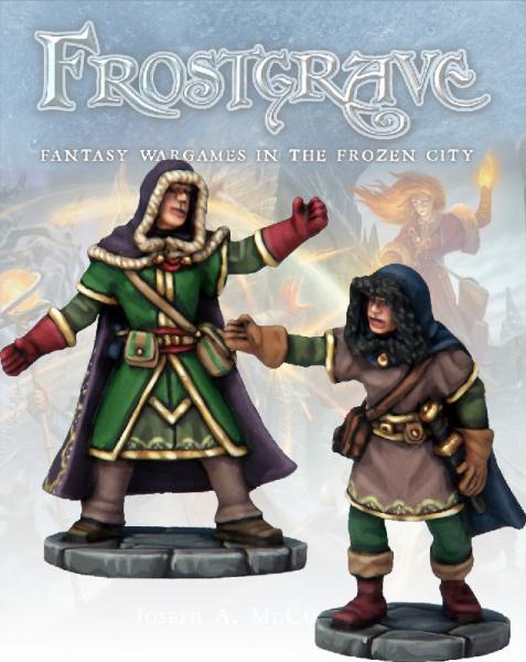 Frostgrave: Illusionist & Apprentice