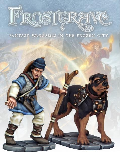 Frostgrave: Tracker & Warhound