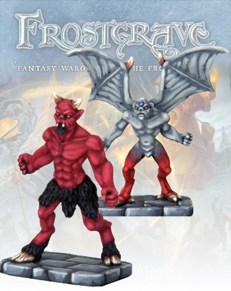 Frostgrave: Imp Demon & Minor Demon