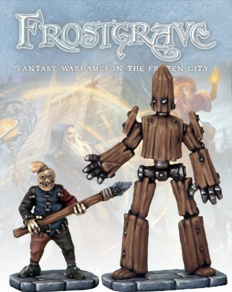 Frostgrave: Small & Medium Constructs (Golems)