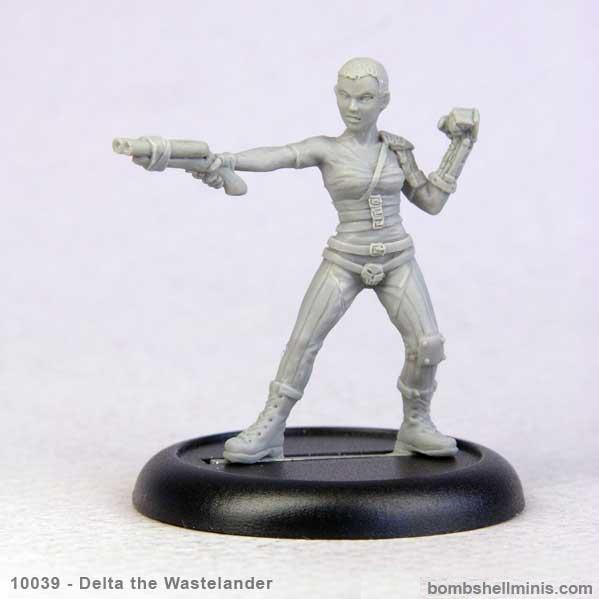 Bombshell Miniatures: Delta the Wastelander
