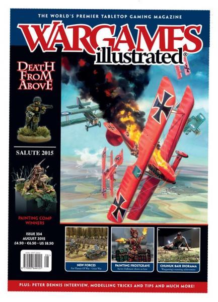 Wargames Illustrated Magazine #334