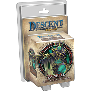 Descent: Zarihell Lieutenant Pack