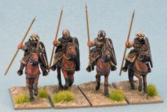 28mm Historical: (Early Crusade) Military Order Sergeants (Spears) (4)