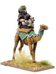 28mm Historical: (Armies Of Islam) Mutatawwi'a Warlord (Camel) (1)