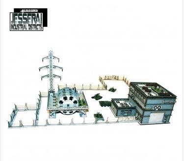 10mm Standard Terrain: Urban Power Plant