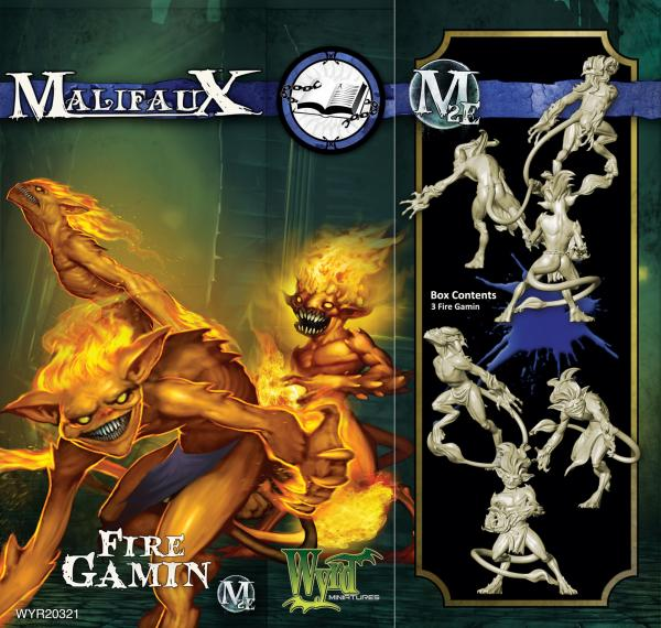 Malifaux: (The Arcanists) Fire Gamin