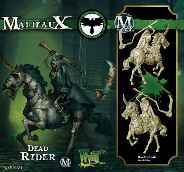 Malifaux: (The Resurrectionists) Dead Rider