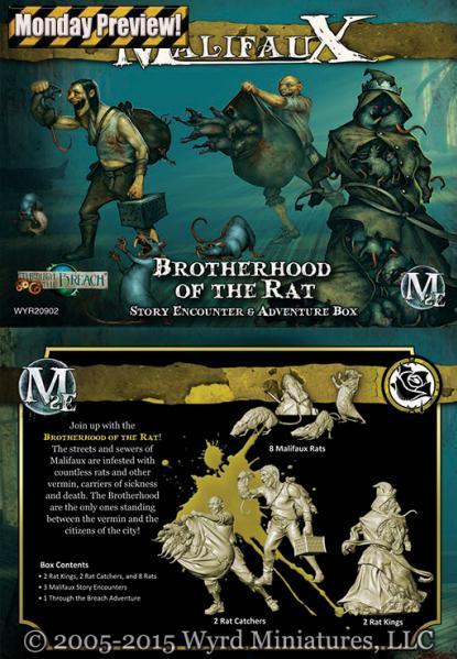 Malifaux: Brotherhood Of The Rat
