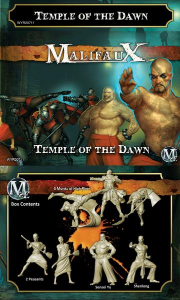 Malifaux: (Ten Thunders) Temple Of The Dawn (Shen Long Crew)