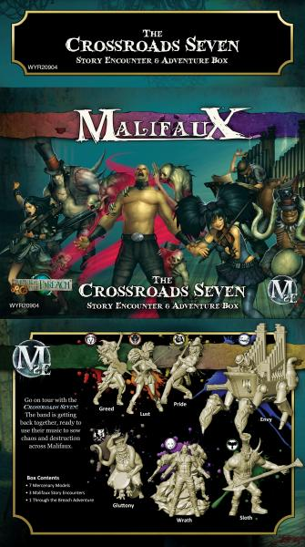 Malifaux: Crossroads Seven
