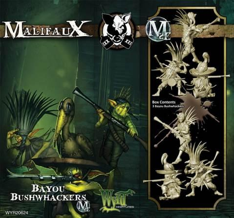 Malifaux: (The Gremlins) Bayou Bushwackers (Mah Tucket)