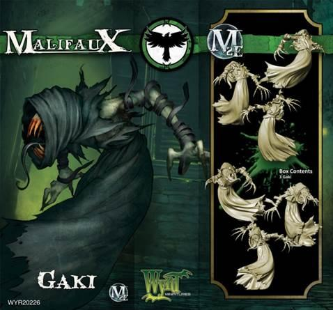 Malifaux: (The Resurrectionists) Gaki