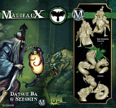 Malifaux: (The Resurrectionists) Datsu Ba & Seishen