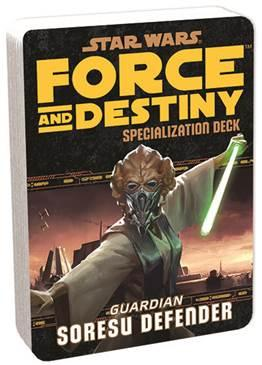 Force and Destiny: Soresu Defender Specialization Deck