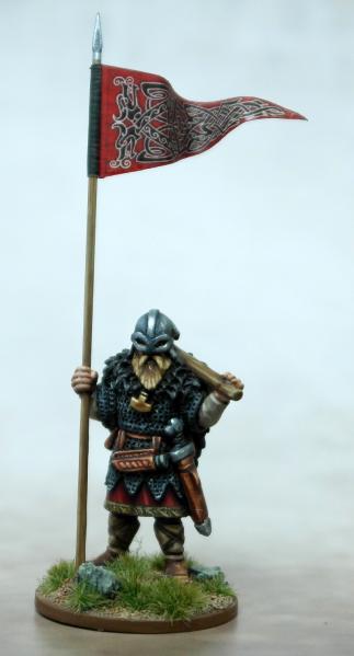 SAGA: (Viking) War Banner & Bearer