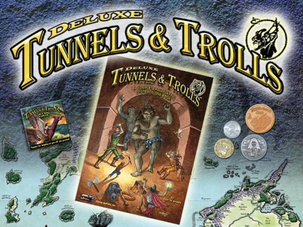 Tunnels & Trolls RPG: Deluxe Edition (HC)