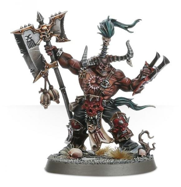 Age of Sigmar: Exalted Deathbringer with Ruinous Axe