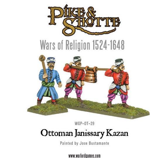Ottoman Janissary Kazan