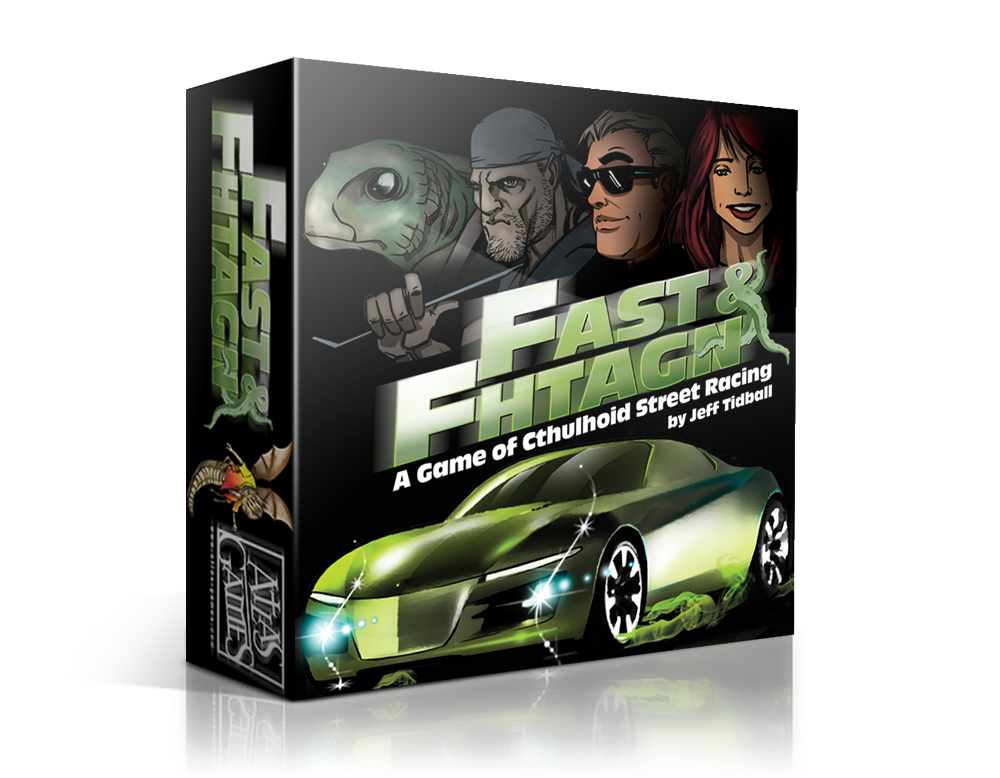 Fast & Fhtagn: A Game Of Cthulhoid Street Racing
