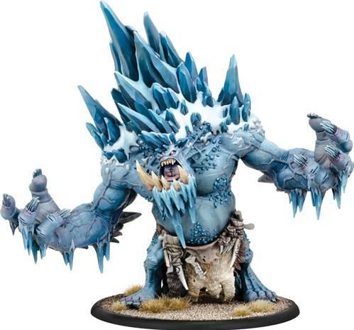 Hordes: (Trollbloods) Glacier King Gargantuan (resin/metal)