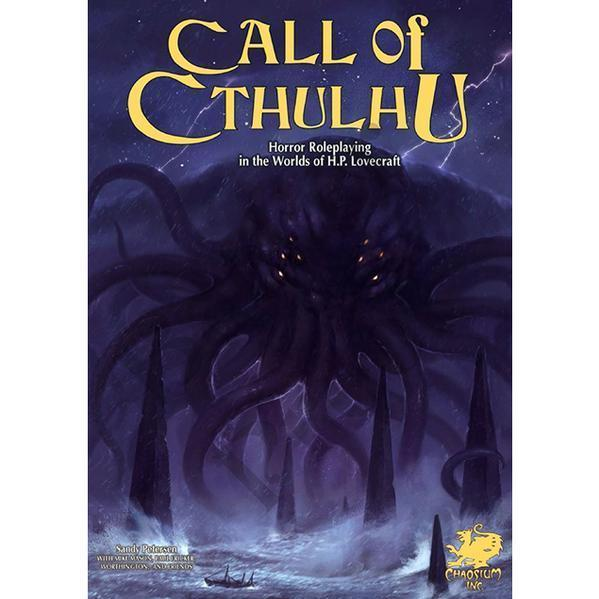 Call of Cthulhu RPG: Core Rulebook [7th Edition]
