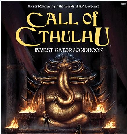 Call of Cthulhu RPG: Investigator's Handbook [7th Edition]