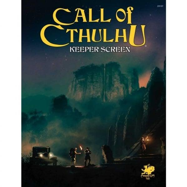 Call of Cthulhu RPG: Keeper Screen Pack [7th Edition]