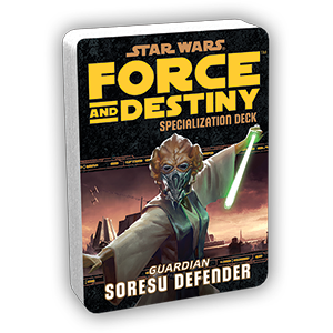 Force & Destiny RPG: Soresu Defender Specialization Deck