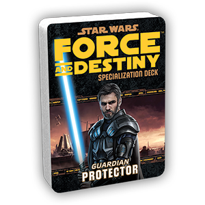 Force & Destiny RPG: Protector Specialization Deck