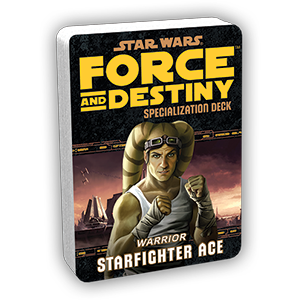 Force & Destiny RPG: Starfighter Ace Specialization Deck
