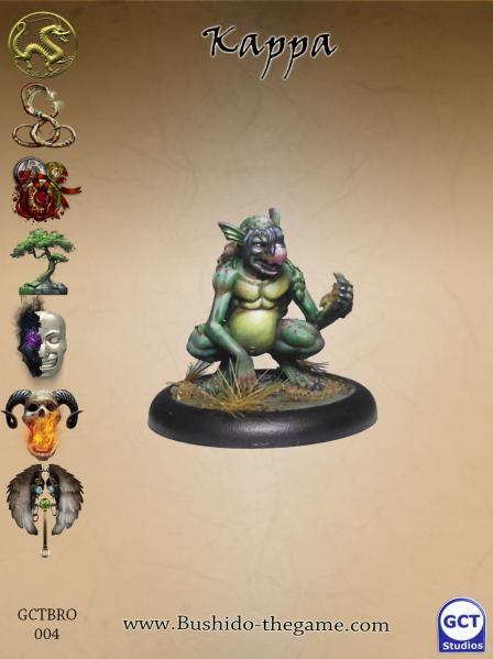 Bushido Miniatures: Kappa