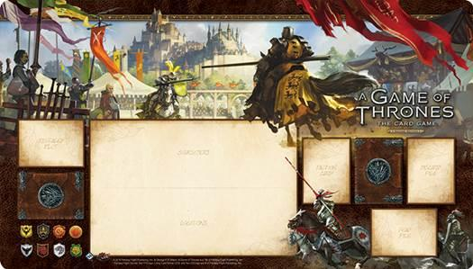 A Game of Thrones LCG: Knights of the Realm Play Mat Second Edition